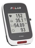 Polar M450 GPS Fahrradcomputer + H7 Herzfrequenz-Sensor + Zubehör schwarz/rot